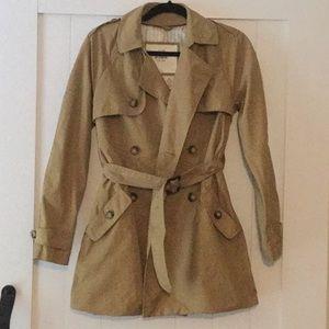 Abercrombie & Fitch Khaki trench coat